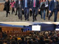 Il Presidente della Camera Roberto Fico all'Università di Salerno per parlare di giovani e istituzioni