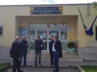 """Attivazione di un Commissariato di Polizia ad Agropoli.Effettuato un sopralluogo nella scuola """"Mozzillo"""""""