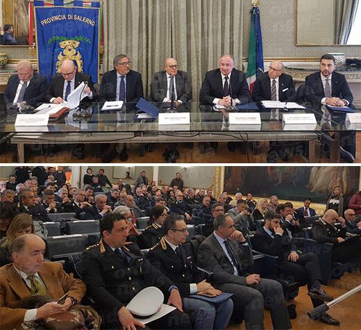 Sicurezza e nuovo codice della strada al centro di un incontro alla Provincia di Salerno