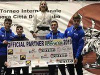 Viki Amendola della New Kodokan di San Pietro al Tanagro a Genova sul podio del Torneo Città di Colombo