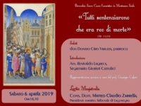 Questa sera a Montesano si discute sul processo a Gesù con Matteo Claudio Zarrella