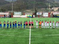 Calcio. Il Valdiano vince a Solofra 2-1 e va ai play out. Soddisfatta dei ragazzi la presidente Aumenta