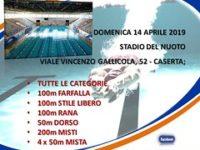 Domani gli atleti della Metasport a Caserta per l'8^ tappa del 18° Campionato Regionale di Nuoto