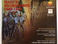 Sanza: domani momento di riflessione sui moti insurrezionali del '48 insieme al Comune di Vibonati