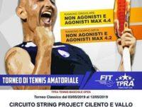 Alla Metasport di San Rufo dal 3 al 12 maggio arriva il Torneo di Tennis Amatoriale