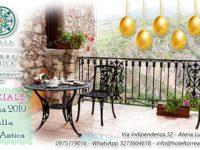 Atena Lucana: una Pasqua speciale con le offerte e i gustosi Menù del Villa Torre Antica