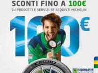 Atena Lucana: sull'acquisto di pneumatici Michelin da Euromaster Marchesano fino a 100 euro di sconto