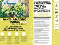 """Oggi a Caggiano l'inaugurazione del progetto """"DianoTanagro RuralHub"""""""