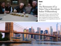 """Teggianesi a Brooklyn. Gli scatti del Club San Cono su """"The New York Times"""""""