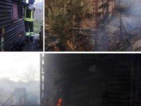 Paura tra San Giovanni a Piro e Camerota. Incendio distrugge un'abitazione