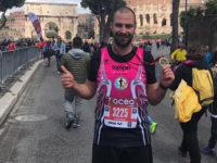 Vincenzo La Maida,atleta teggianese,alla Maratona di Roma come unico rappresentante del Vallo di Diano