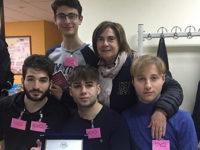 """Gli studenti del Liceo Scientifico di Teggiano vincono il concorso """"Caccia al numero"""" all'Unibas"""