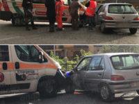 Scontro tra auto e ambulanza a Sala Consilina. Ferita una donna del posto
