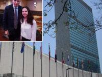 """Dal """"Pomponio Leto"""" di Teggiano all'ONU. Giovane studentessa di Polla ospite del Palazzo di Vetro"""