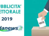 ELEZIONI 2019, REGOLAMENTO PUBBLICITÀ ELETTORALE SU ONDANEWS