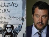 Cartello contro Salvini in Val d'Agri. Dai social del ministro all'opera dell'italovenezuelano Figueredo