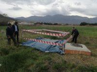 Abbandono di rifiuti pericolosi.A Tramutola sequestrata discarica di eternit dalla Polizia Municipale