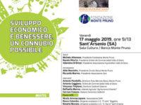Sant'Arsenio: il 17 maggio l'incontro su sviluppo economico e benessere alla Banca Monte Pruno
