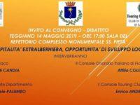 """""""Ospitalità extralberghiera, opportunità di sviluppo locale"""". Se ne discute domani a Teggiano"""