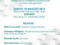 """Il 18 maggio a Sassano Premio """"Orchidea d'Argento"""" e corso di formazione per i giornalisti"""
