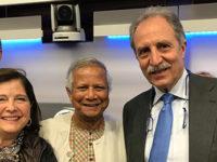 Il Presidente della Regione Basilicata incontra il Premio Nobel per la Pace, Muhammad Yunus
