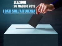Elezioni 2019.L'affluenza nel Vallo di Diano, Cilento, Golfo di Policastro, Sele, Tanagro