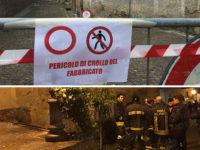 Vietri di Potenza: crolla il solaio dello storico Palazzo dei Briganti. Intervengono i Vigili del Fuoco
