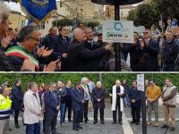 Il Governatore Vincenzo De Luca inaugura gli impianti di distribuzione del gas a Caggiano e Pertosa
