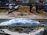 Scoperta discarica di auto e rifiuti a Sala Consilina. Denunciato il responsabile e sequestrata l'area