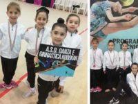 Strepitoso successo e incetta di medaglie ad Angri per le piccole atlete della Kodokan Ginnastica