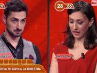 """Giuseppe Rinaldi di Buonabitacolo concorrente del gioco """"L'Eredità"""" su Rai 1"""