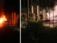 Auto prende fuoco mentre percorre la Strada Statale 18 a Pontecagnano. Intervengono i Vigili del Fuoco