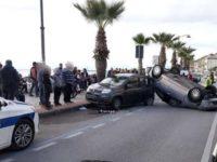 Scontro tra auto e furgone ad Agropoli. Ferita gravemente una donna