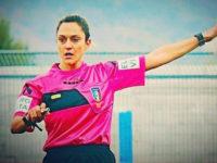 Maria Marotta, arbitro della Sezione di Sapri, in campo alla semifinale degli Europei Under 19 femminili