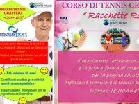 San Rufo: Metasport propone corsi gratuiti di tennis per donne e over 60