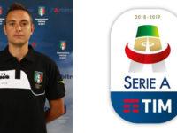 Manuel Robilotta, arbitro della sezione AIA di Sala Consilina, in serie A con Spal-Napoli