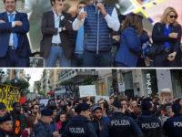 """""""Prima gli Italiani in difficoltà e poi il resto"""", il ministro Salvini incontra i cittadini a Salerno"""