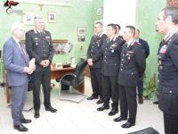 Potenza, visita del Prefetto Annunziato Vardè ai Comandi territoriali dei Carabinieri