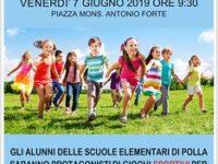 """Polla: domani i bambini delle Elementari protagonisti del progetto """"La scuola si mette in gioco"""""""