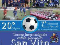 Al via a San Gregorio Magno il Torneo Internazionale calcio giovanile San Vito