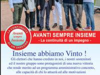 San Pietro al Tanagro: domani il giuramento del sindaco Quaranta e la presentazione della Giunta