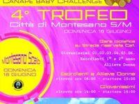 """A Montesano domani  la finale della gara ciclistica nazionale """"Canapè Baby Challenge"""""""