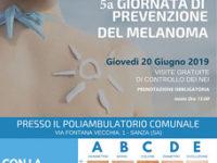 Sanza: il 20 giugno giornata dedicata alla prevenzione del melanoma