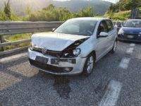 Scontro tra auto in A2 tra Pontecagnano e Battipaglia. Ferite una donna di Polla e una di Agropoli