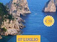 Speranza Viaggi di Caselle in Pittari organizza il 7 luglio un viaggio a Capri