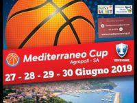 """Al via domani ad Agropoli il torneo nazionale di basket e minibasket """"Mediterraneo cup"""""""
