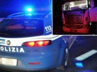 Guida il camion in stato di ebbrezza sull'A2 tra Polla e Petina. Nei guai autista casertano