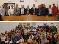 A Caggiano il giuramento del nuovo sindaco Modesto Lamattina e l'insediamento del Consiglio comunale