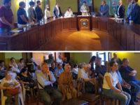 Si insedia a San Pietro al Tanagro il Consiglio comunale. Il sindaco Quaranta pronuncia il giuramento