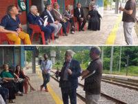 Sul binario 1 di Sicignano incontro per discutere di collegamenti e della tratta ferroviaria soppressa